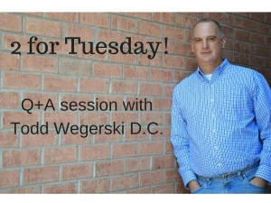 2 for Tuesday with Todd Wegerski DC